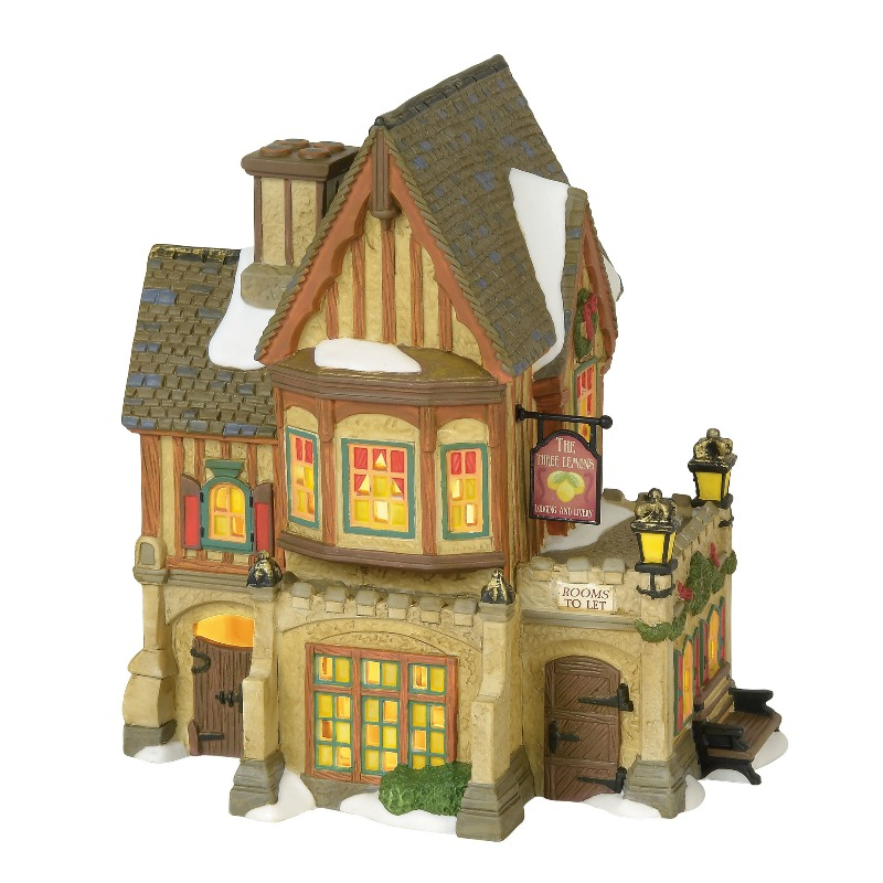 "Department 56 Dickens Village - ""The Three Lemons Inn"" 2018"