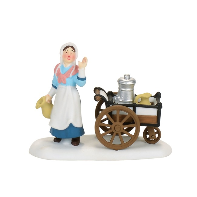 "Department 56 Dickens Village - ""Victorian Milk Maid"""