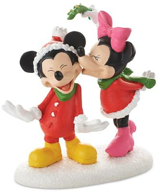 "Department 56 Disney Village - ""Mickey's Christmas Kiss"""