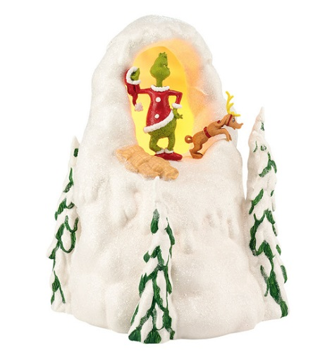"Department 56 Grinch Who-Ville - ""Mount Crumpet"""