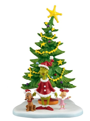 "Department 56 Grinch Who-Ville - ""Welcome Christmas, Christmas Day"""
