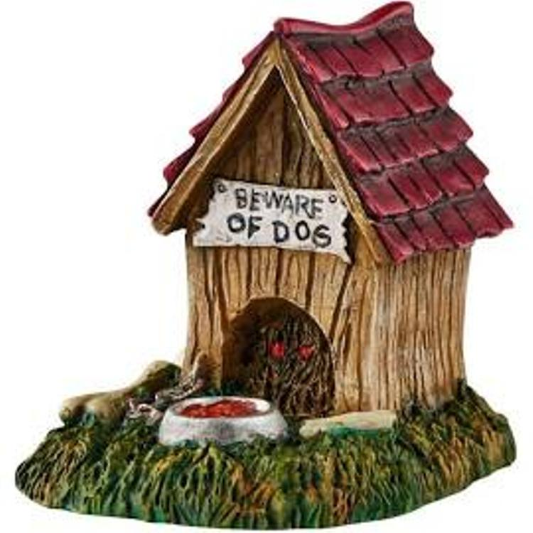 "Department 56 Halloween Accessory - ""Creepy Creatures Dog House"""