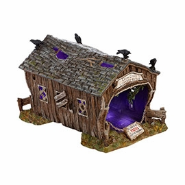"Department 56 Halloween Accessory  - ""Crow Creek Covered Bridge"""