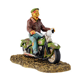 "Department 56 - Halloween Accessory -""Ghost Rider On The Road"""