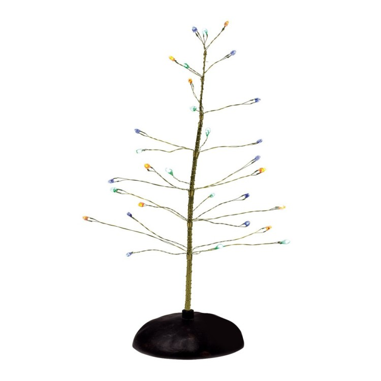 "Department 56 Halloween Accessory - ""Halloween Multi-Color Tree"""