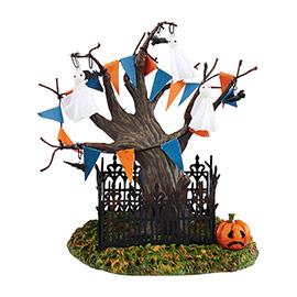 "Department 56 - Halloween Accessory -""Halloween Town Tree"""