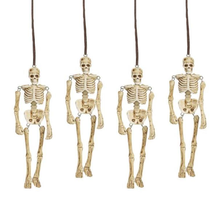 "Department 56 Halloween Accessory - ""Hangmen Skeletons"""