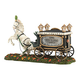 "Department 56 - Halloween Accessory -""Haunted Hearse"""
