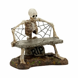 """Department 56 Halloween Accessory  - """"Is This Seat Taken?"""""""