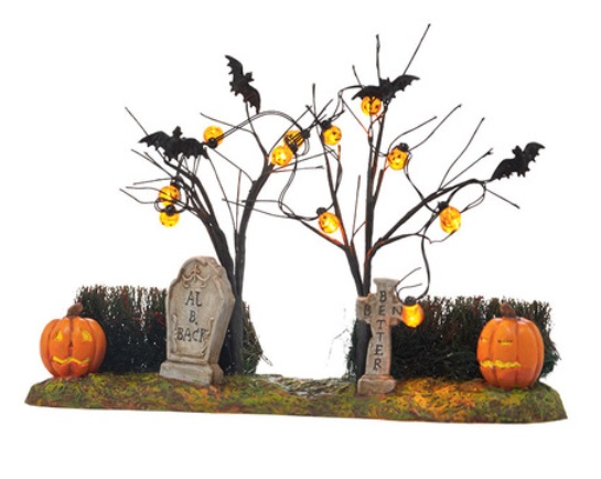 "Department 56 - Halloween Accessory -""Jack-O-Lantern Yard"""