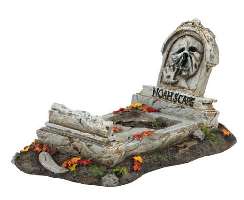 "Department 56 - Halloween Accessory -""Noah Scape Grave"""