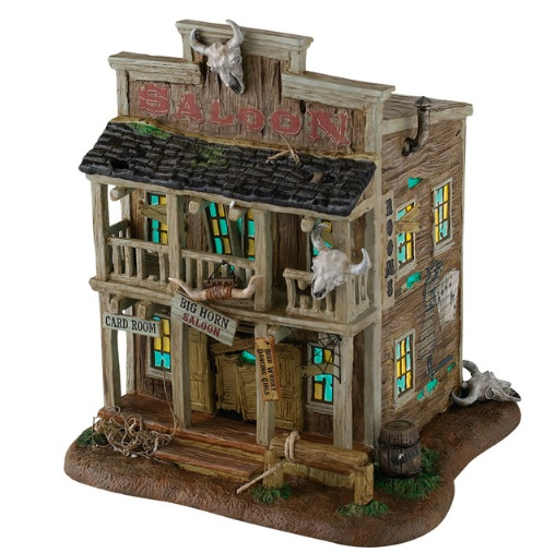 "Department 56 Halloween  - ""Big Horn Saloon"""
