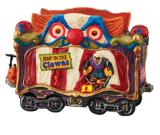 "Department 56 Halloween - ""Creepy Clown Car"""