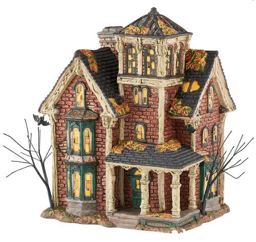"Department 56 Halloween - ""Ghastly's Haunted Villa"""