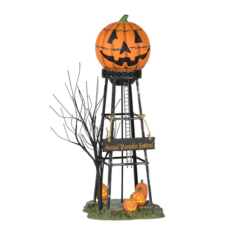 "Department 56 Halloween Accessory - ""Halloween Water Tower"""