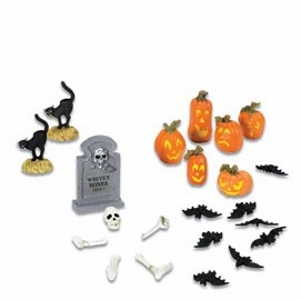 "Department 56 Halloween  - ""Halloween Yard Decorations"""