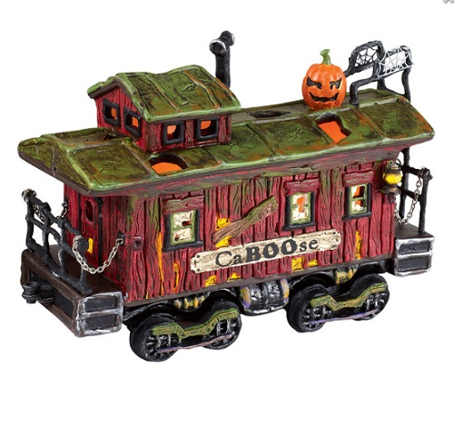 "Department 56 Halloween  - ""Haunted Rails CaBOOse"""