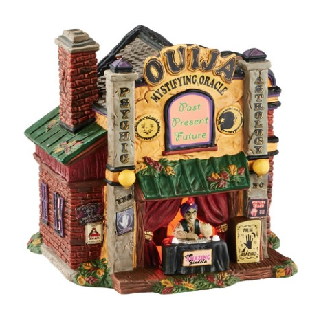 "Department 56 Halloween - ""Ouija The Mystifying Oracle"""