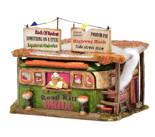 "Department 56 Halloween - ""Roadkill Grill"""