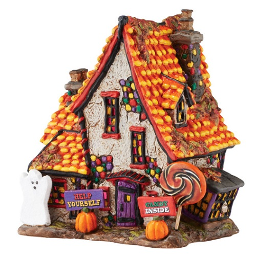"Department 56 Halloween - ""Sweet Trappings Cottage"""