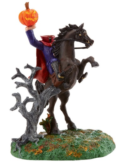 "Department 56 Halloween  - ""The Headless Horseman"""