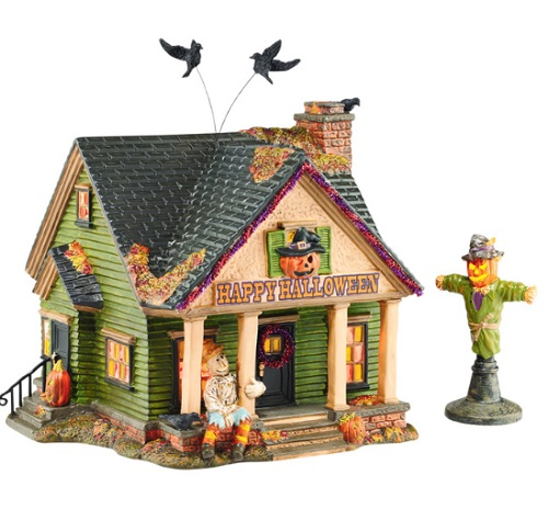 department 56 halloween the scarecrow house