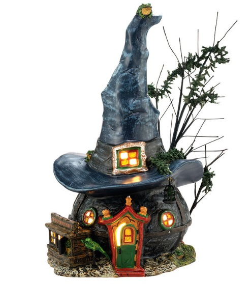 "Department 56 Halloween - ""Toads & Frogs Witchcraft Haunt"""
