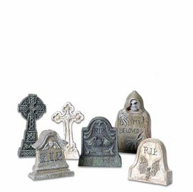 "Department 56 Halloween  - ""Tombstones"""