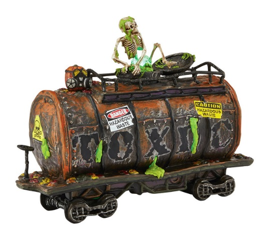 "Department 56 Halloween - ""Toxic Waste Car"""