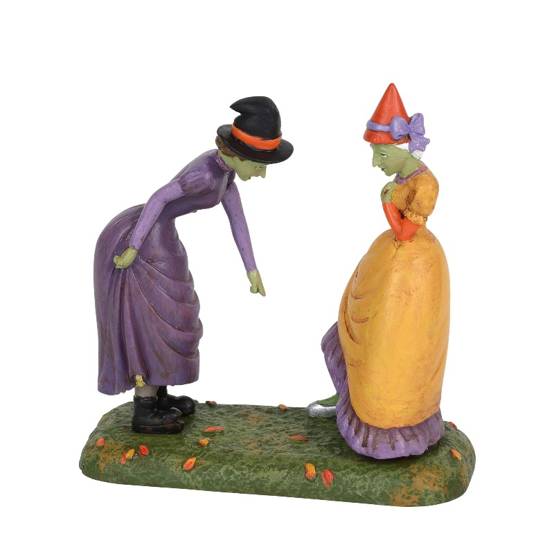 "Department 56 Halloween Village Accessory - ""Green With Envy"" 2018"