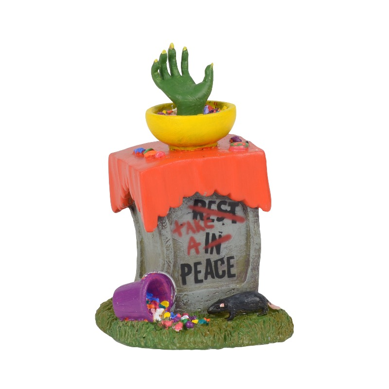 "Department 56 Halloween Village Accessory - ""Tricky Treats"" 2018"