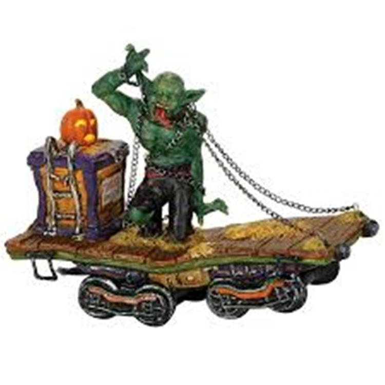 "Department 56 Halloween Village - ""The Beast"""