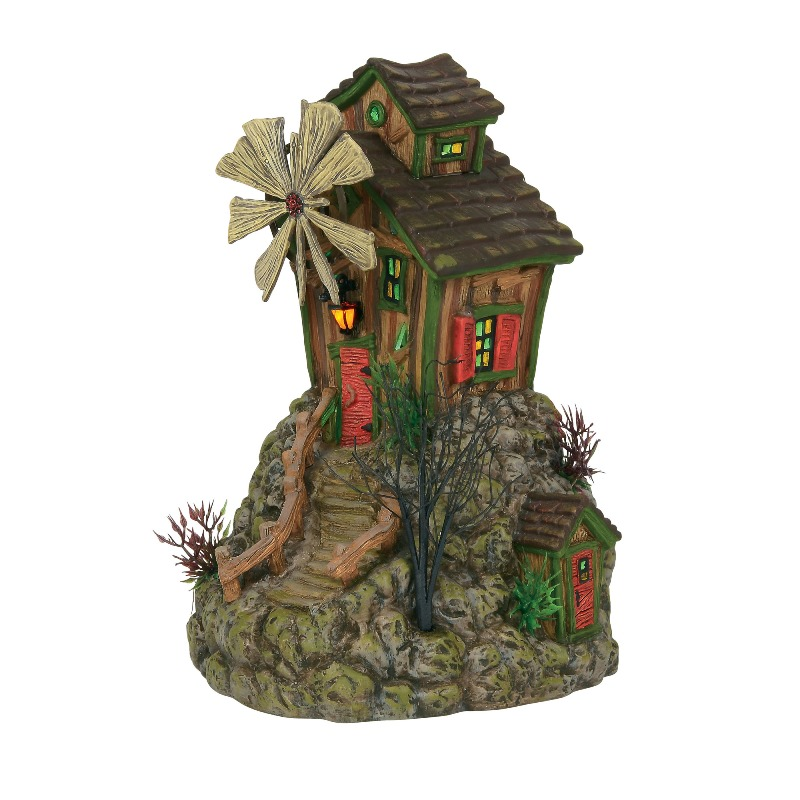 "Department 56 Halloween Village - ""The Bone Grinder Mill"" 2018"