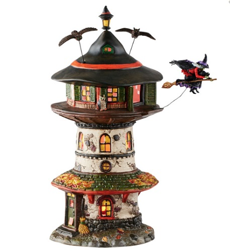 "Department 56 Halloween - ""Witch Way Home Tower"""