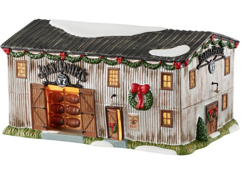 "Department 56 Jack Daniels Village - ""Barrel House No. 7"""