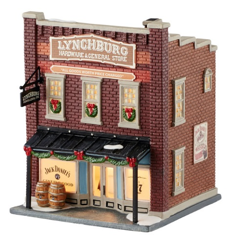 "Department 56 Jack Daniels Village - ""Lynchburg Hardware & General Store"""