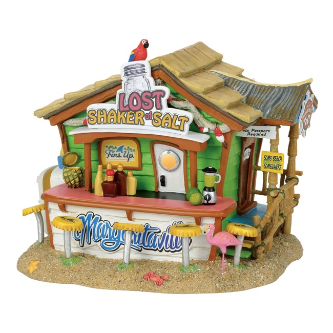 "Department 56 Margaritaville Village - ""Margaritaville Lost Shaker of Salt Bar"""