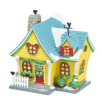 """Department 56 - Mickey's Christmas Village- """"Mickey's House"""""""