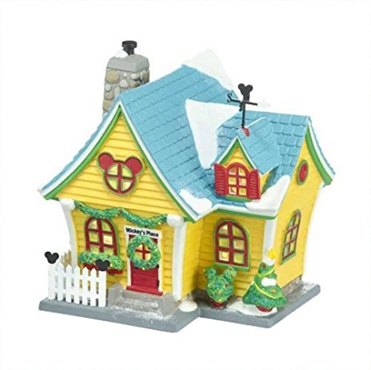 "Department 56 Disney Village - ""Mickey's House"""