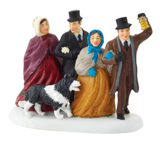 "Department 56 New England Village Accessory - ""Joyful Carols"""