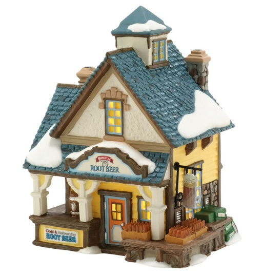 "Department 56 New England Village - ""Spirit of '76 Root Beer"""
