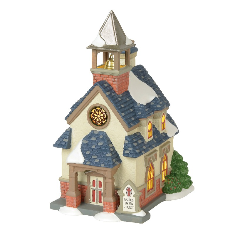 "Department 56 New England Village- ""Walton Green Church"" 2018"