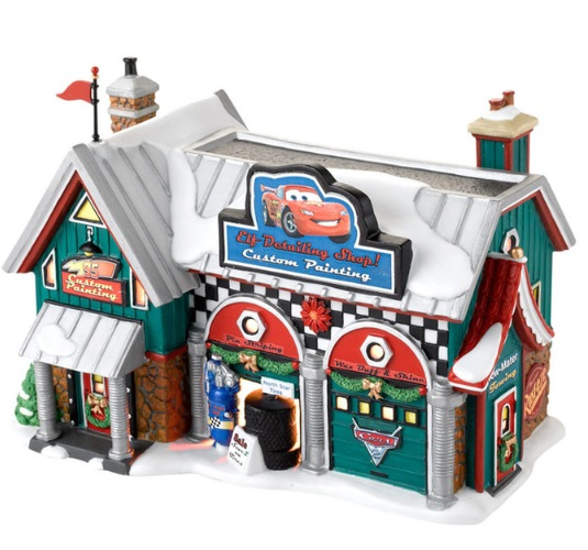 "Department 56 North Pole Series  - ""Cars Holiday Detail Shop"" - Retired 2013"