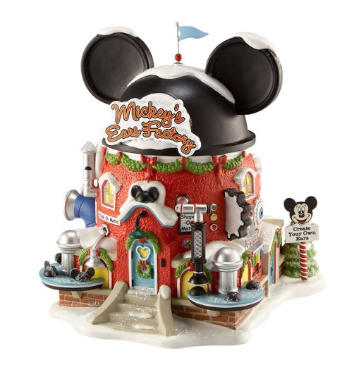 """Department 56 North Pole Series - """"Mickey's Ears Factory"""""""