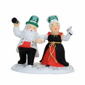 """Department 56 North Pole Village - """"Ringing In The New Year"""""""