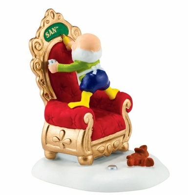 """Department 56 North Pole Village Accessory - """"A Personal Touch"""""""