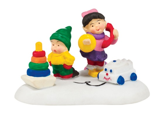 """Department 56 North Pole Village Accessory - """"Fisher-Price� Toys"""""""