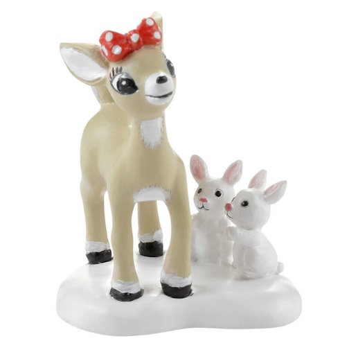 """Department 56 North Pole Village Accessory - """"I Think You're Cute"""""""