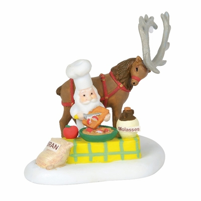 "Department 56 North Pole Village Accessory - ""Making Magic Reindeer Food"" 2018"