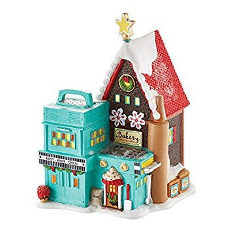 "Department 56 North Pole Village - ""Hasbro Easy-Bake Bakery"""